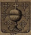 Escudo da Galiza em La vraye et parfaite science des armoiries de Pierre Palliot (1660).jpg