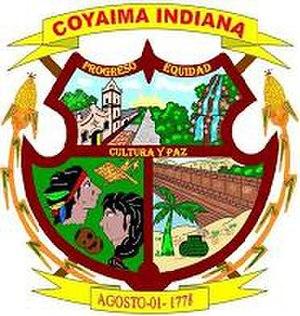 Coyaima - Image: Escudo del Municipio de Coyaima (Tolima)