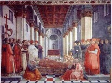 Η επικήδεια τελετή του Αγίου Στεφάνου.