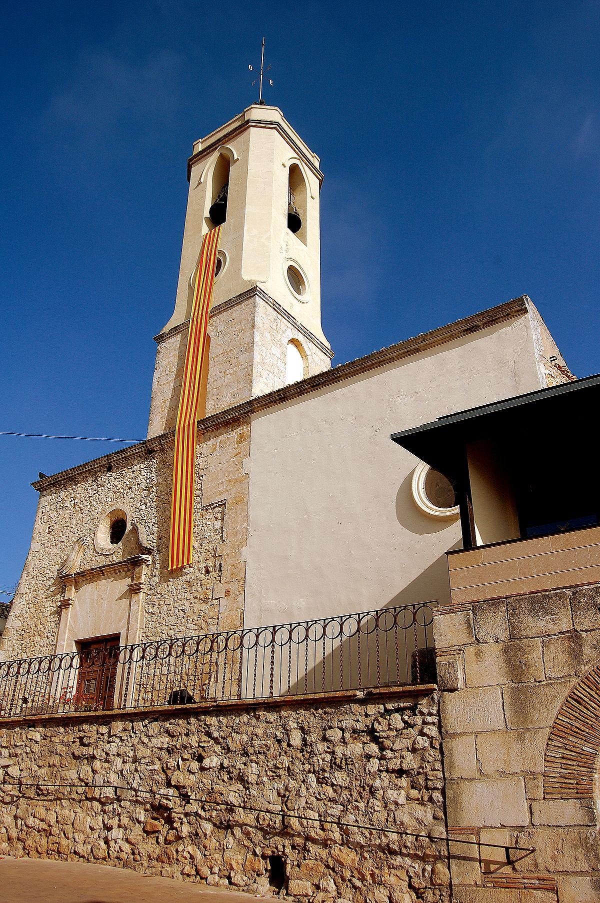 Esgl sia de sant cugat sant cugat sesgarrigues - Arquitectura sant cugat ...