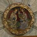 Església dels Sants Just i Pastor - clau de volta de l'absis.jpg