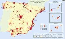 Cartina Tematica Spagna.Spagna Wikipedia