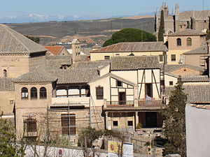 El Greco Museum, Toledo - View of the El Greco Museum in Toledo, Spain.