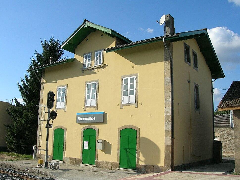 Estación de Baamonde, Begonte