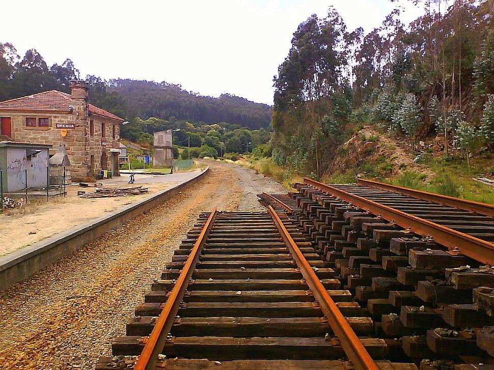 Estación de Bregua, Veiga, Culleredo