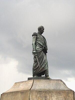 Bolívar Square - Statue of Simón Bolívar on the square