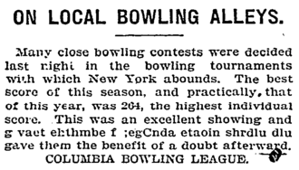 Etaoin shrdlu - Etaoin shrdlu in a 1903 publication of The New York Times (third line from the bottom).