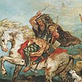 Eugene Ferdinand Victor Delacroix Attila fragment (cropped).jpg