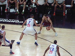 Latvian basketball player