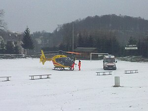 Eurocopter z LPR Sanok w Czaszynie.jpg