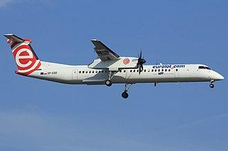 Eurolot - A Eurolot Bombardier Q400