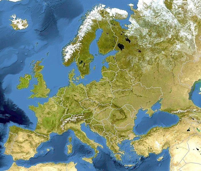 File Europe Bluemarble Laea Location Map Jpg Wikimedia