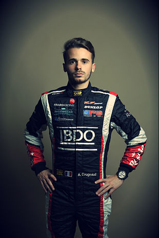 Alexandre Cougnaud, pilote officiel BRM