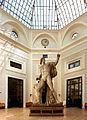 Ex-istituto d'arte, colosso (gesso di un dioscuro di montecavallo) 01.JPG