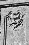 exterieur detail van ingangsomlijsting - raamsdonk - 20304352 - rce
