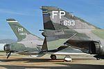 F-105B & F-4C, March Field Museum, CA. 28-2-2016. (26475358414).jpg