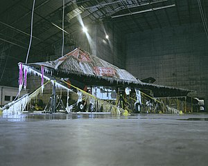 North Florida - F-117 on ice at McKinley Climatic Laboratory