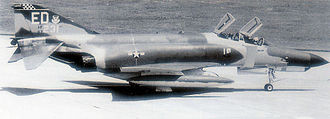 354th Fighter Wing - McDonnell Douglas F-4E-34-MC Phantom Serial 67-0231 of the 16th Tactical Fighter Squadron on TDY from Eglin AFB Florida - Attached to 354th TFW at Kunsan AB South Korea - 1 April 1970. In 1980, this aircraft was sold to the Egyptian Air Force.