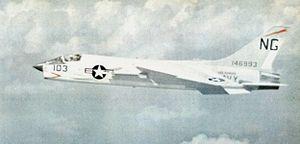 F-8C Crusader VF-91 in flight c9162.jpg