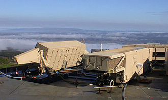 Terminal High Altitude Area Defense - The AN/TPY-2 radar