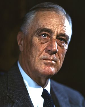 United States presidential election, 1944 - Image: FDR 1944 Campaign Portrait (cropped)