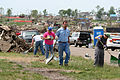 FEMA - 36564 - Volunteers help to clean up a neighborhood in Iowa.jpg