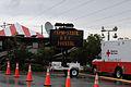 FEMA - 38146 - Red Cross truck and FEMA-State sign at the DeBary, Florida DRC.jpg