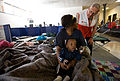 FEMA - 40528 - Residents at a temporary Red Cross shelter in Fargo in North Dakota.jpg
