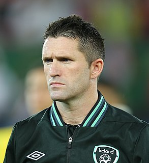 Robbie Keane Irish footballer