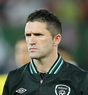 Robbie Keane - Keane playing for Ireland against Austria in 2013