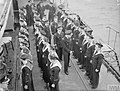 FREE FRENCH NAVAL C IN C, REAR ADMIRAL P H ABOYNEAU VISITS FREE FRENCH SHIPS AND ESTABLISHMENTS. 19 MAY 1942, GREENOCK. A8791.jpg