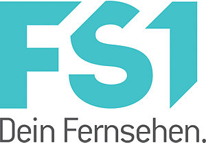 FS1 (Austrian TV channel) - Image: FS1 Logo with Claim (2012)