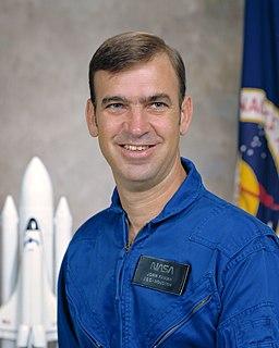 John M. Fabian American pilot and astronaut