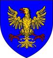 Famille Laisné blason a l'aigle avant 1450 (Normandie).png