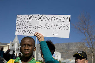 Xenophobia in South Africa - Anti-xenophobia walk on Mandela Day 2010, Cape Town