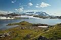 Fantesteinsvatnet and Fannaråki, Lom, Innlandet, Norway, 2019 July.jpg