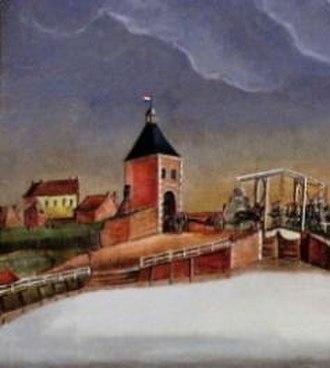 Poorter - Farnsumerpoort of Delfzijl, province of Groningen