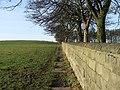 Farnley Park boundary wall. - geograph.org.uk - 93617.jpg