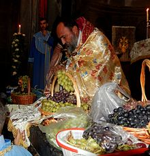 Feast of the Assumption of Mary in Armenia, Grape Blessing day (7).jpg