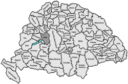 Location of Fejér