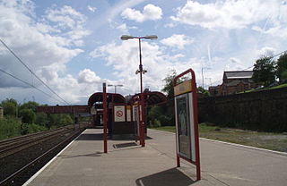 Felling Metro station Station of the Tyne and Wear Metro