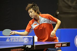 Feng Tianwei Singaporean table tennis player