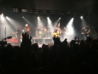 Rock City (venue) - Ferocious Dog playing at Rock City in 2015