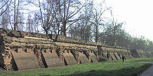 Ferrara - The Renaissance walls.