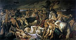 Anselm Feuerbach: Battle of the Amazons