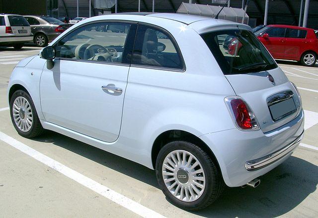 Fiat 500 rear 20080621