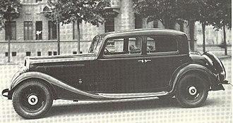 Fiat 527 - Image: Fiat 527 S 1934