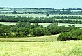 Fields and hillside view over Harlton - geograph.org.uk - 275508.jpg