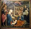 Filippo lippi e aiuti, natività coi ss. giorgio e vincenzo ferrer, 1465-67, da s.domenico, prato, 01.jpg