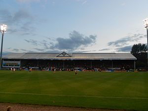 Firhill Stadium - The Colin Weir Stand at Firhill